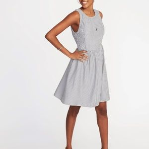 Fit & Flare Sleeveless Dress for Women